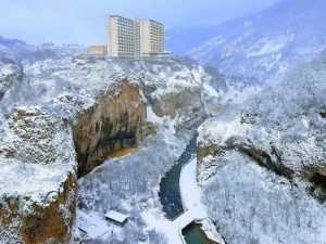 Winter in Jermuk, Armenia