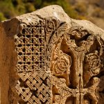 Khach kar - cross stone