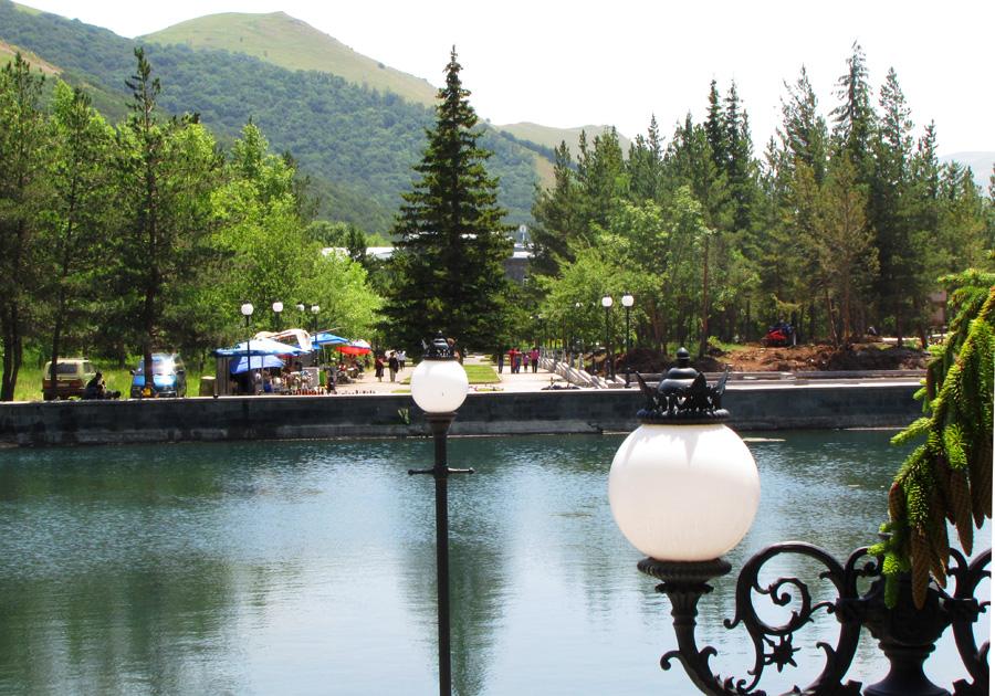 Джермук - курортный город в Армении