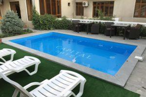 Capital swimming pool